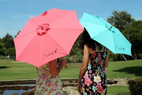 ⭐️ usar paraguas para el sol